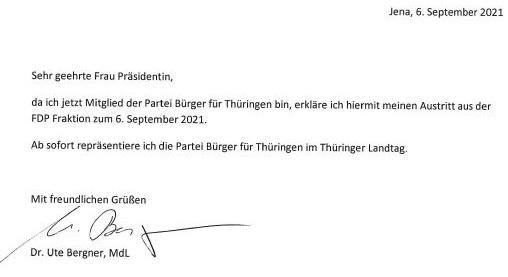 Bye, bye, Dr. Bergner