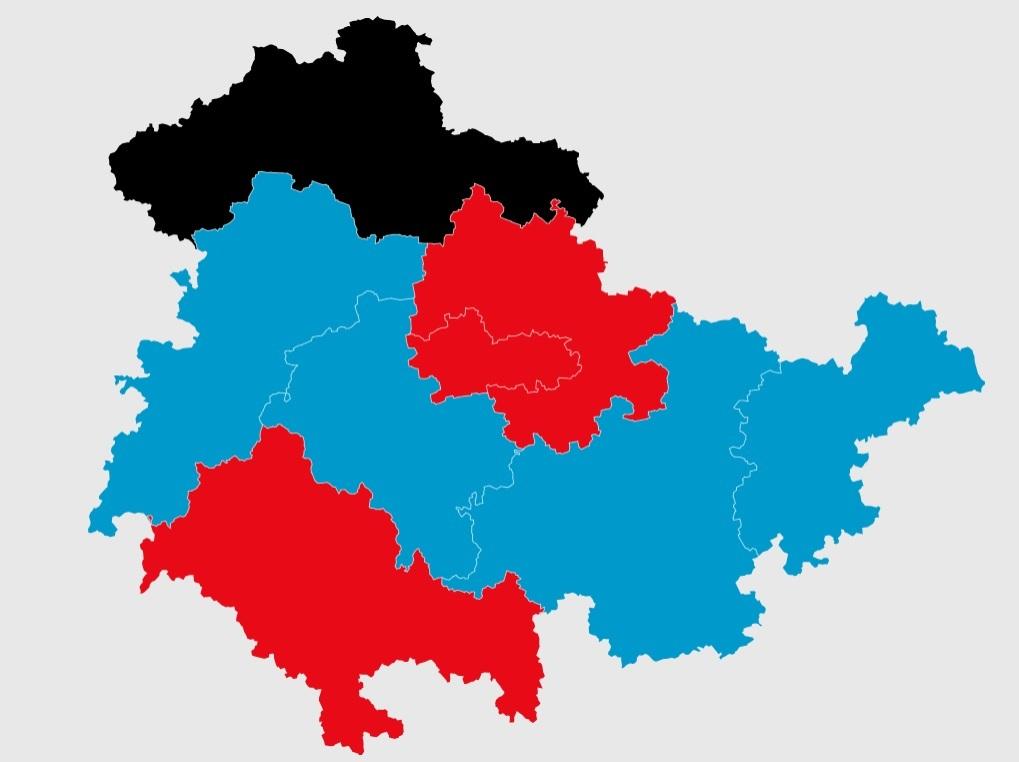 """Versinkt Thüringen im """"Blauen Meer""""?"""